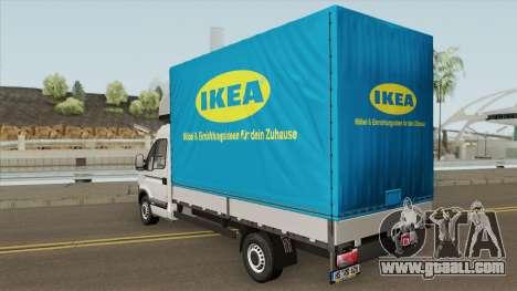Opel Movano Ikea Transporter for GTA San Andreas