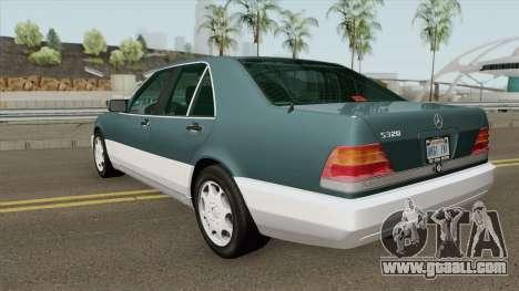 Mercedes-Benz S-Class W140 (US-Spec) for GTA San Andreas