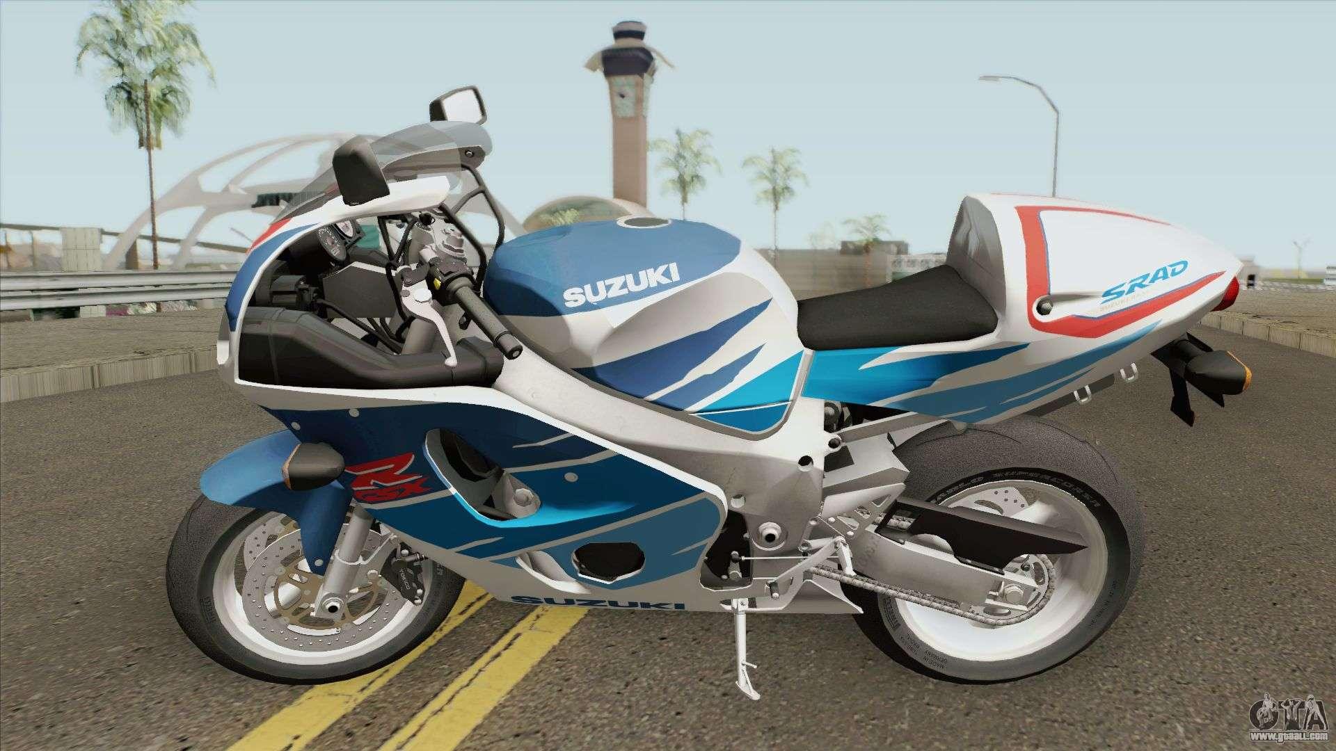 Suzuki GSXR-750 SRAD 1997 for GTA San Andreas
