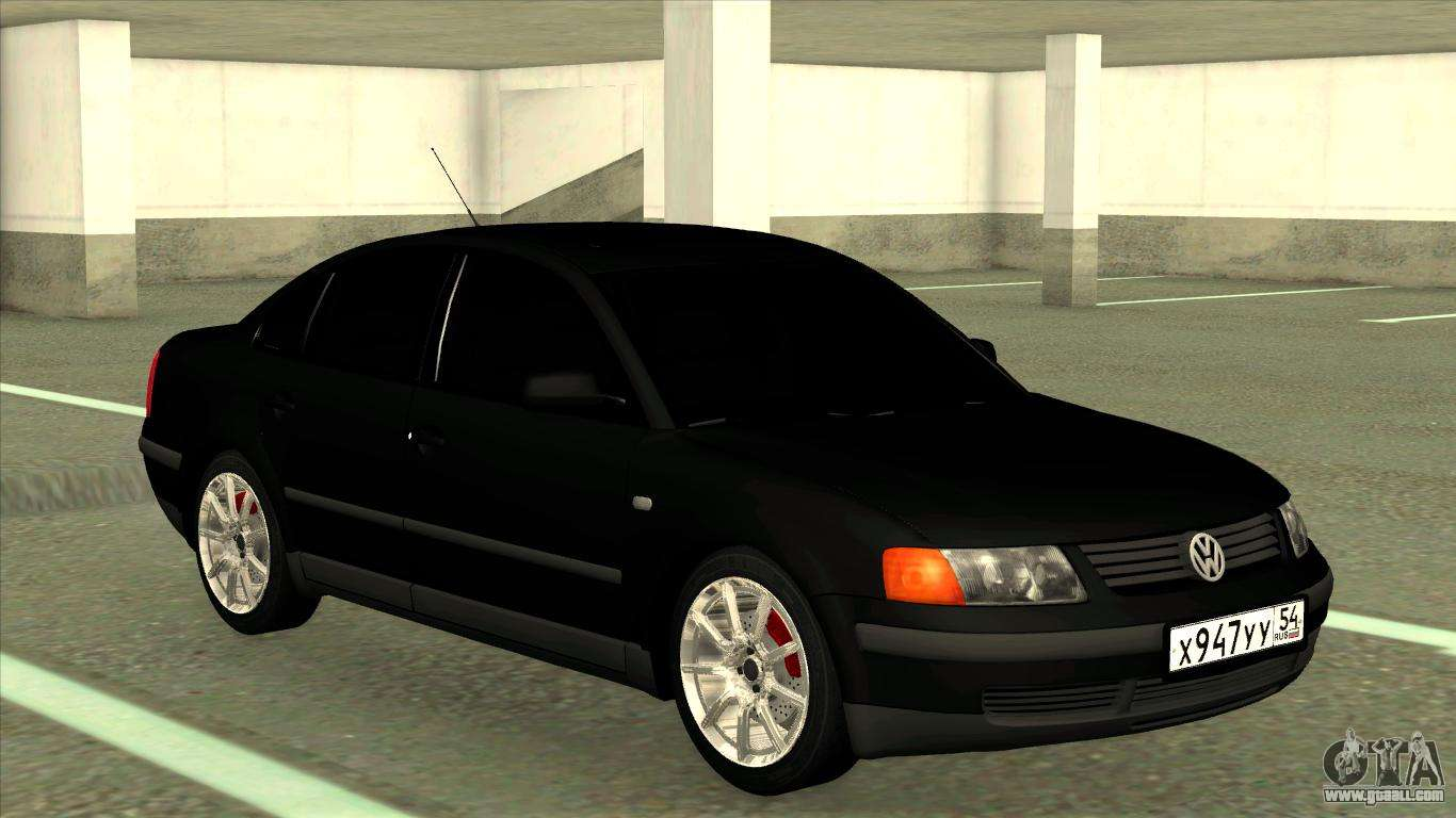 Volkswagen Passat B5 Tuning For Gta San Andreas