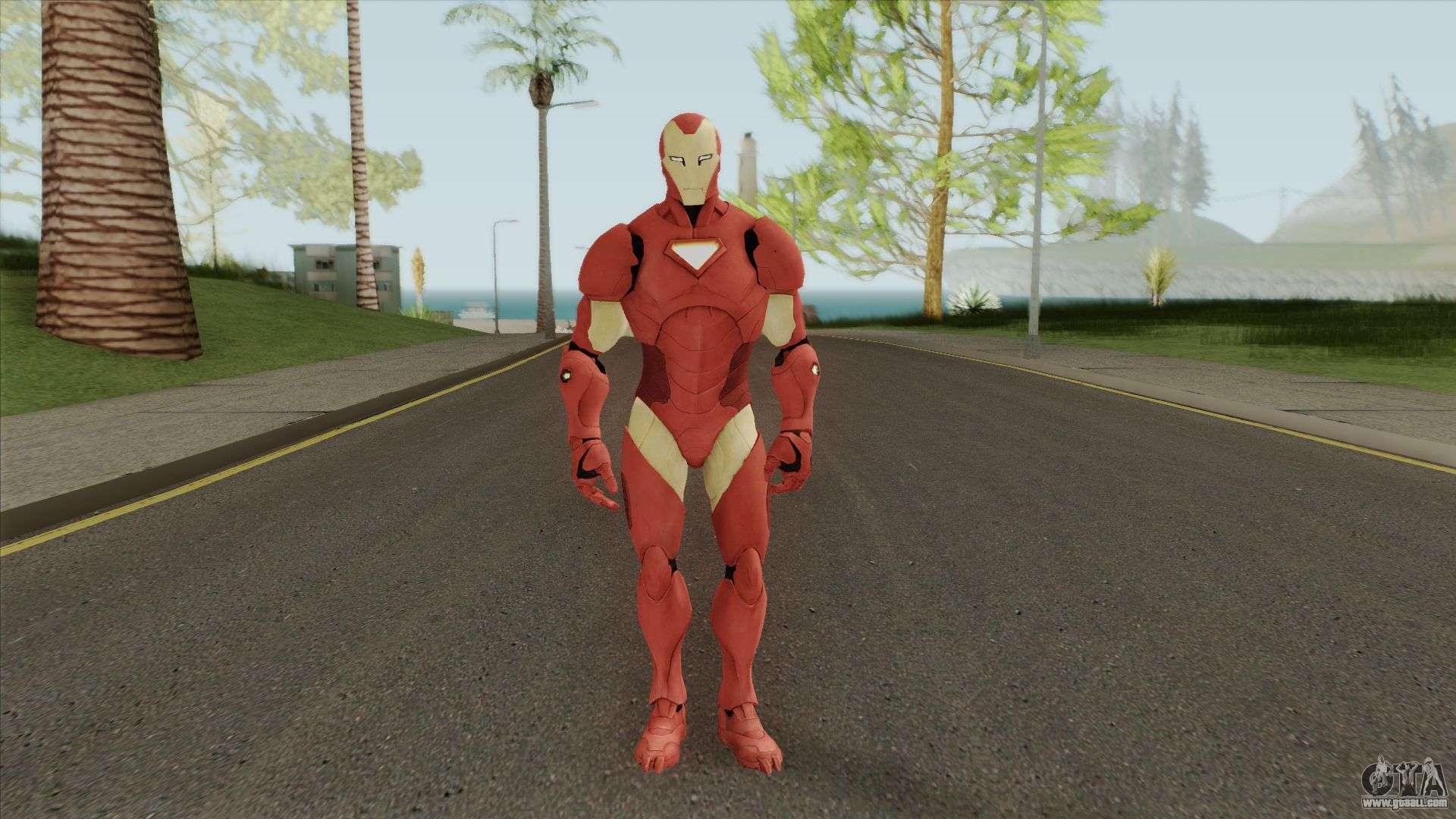 Iron Man 2 (Ultimate) V1 for GTA San Andreas