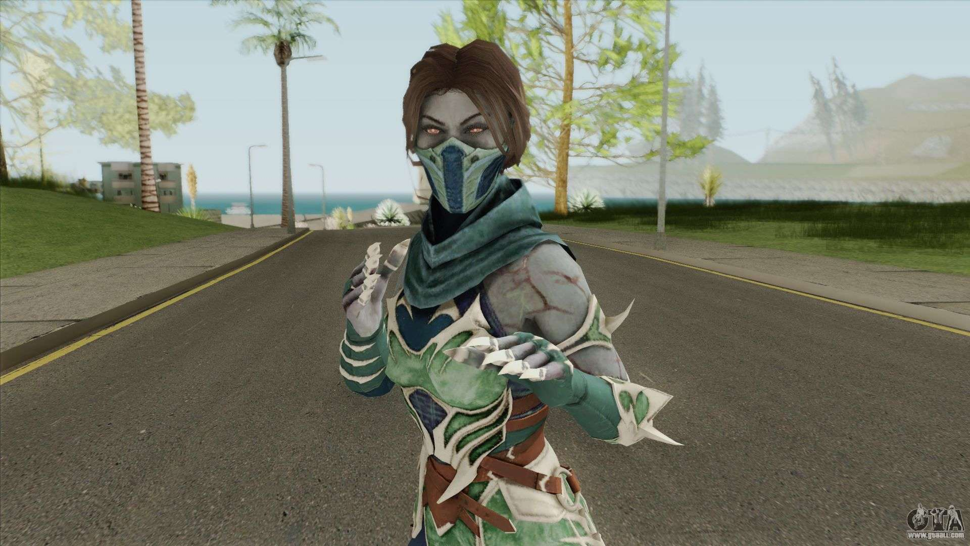 Jade From MK11 (iOS) for GTA San Andreas