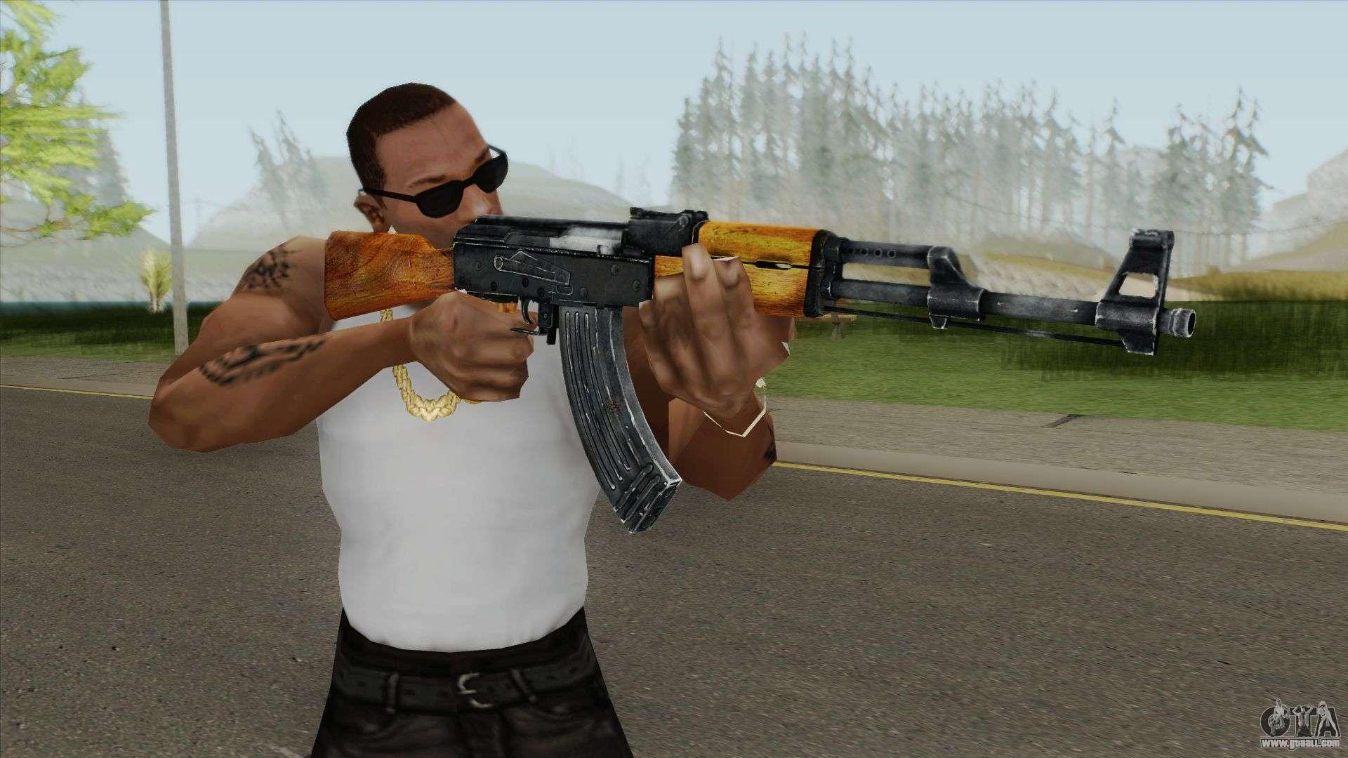 Ak 47 Max Payne 3 For Gta San Andreas