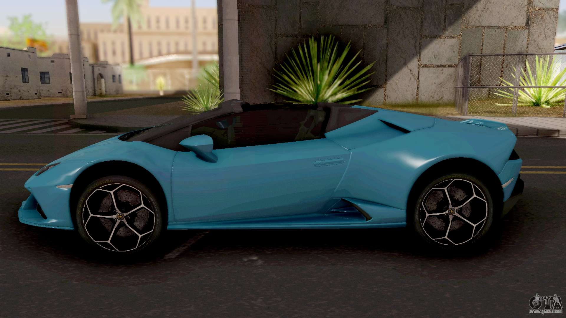 Lamborghini Huracan Evo Spyder For Gta San Andreas