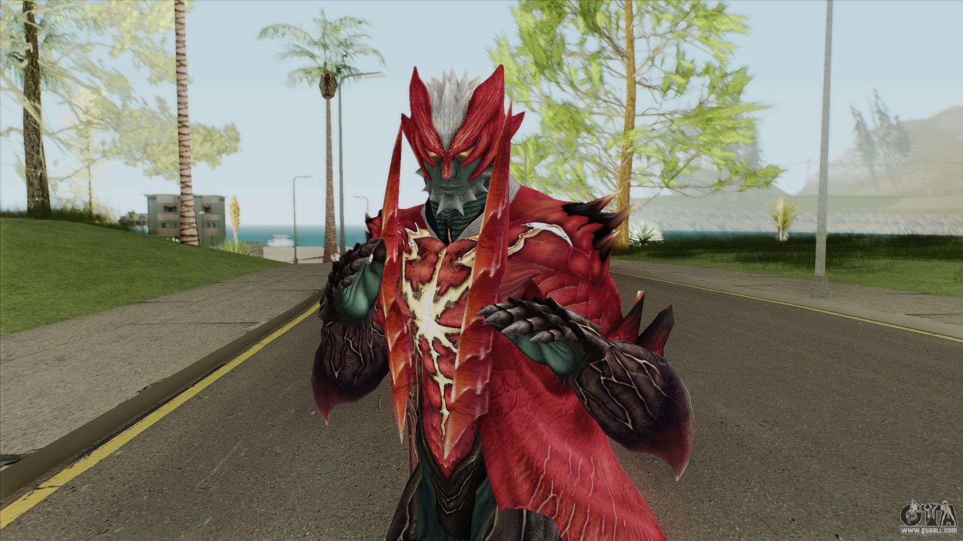 Dante Devil Trigger Devil May Cry 4 For Gta San Andreas