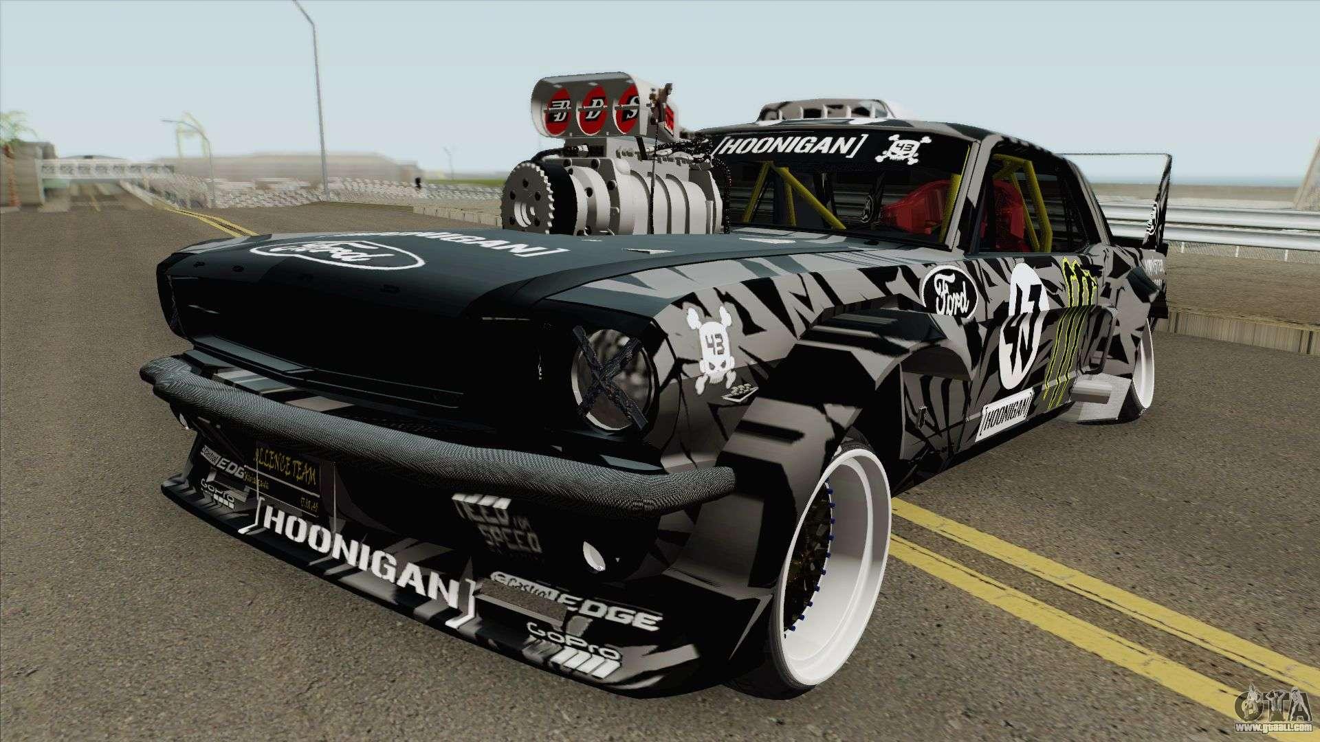 Ken Block Mustang >> Ford Mustang 1965 Ken Block Hq For Gta San Andreas