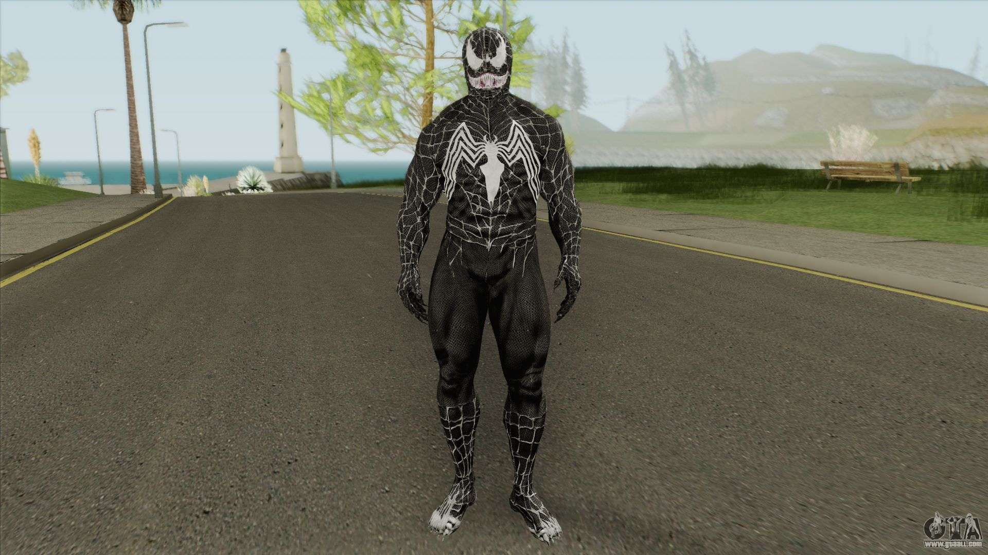 Venom - Spider-Man 3 The Game V1 for GTA San Andreas