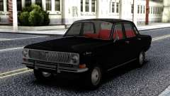 GAZ 24 Volga Black for GTA San Andreas