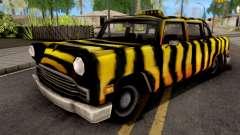 Zebra Cab GTA VC for GTA San Andreas