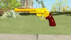 Golden Revolver for GTA San Andreas