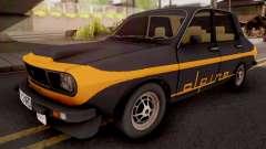 Renault 12 Alpine Black for GTA San Andreas