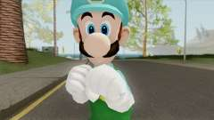 Luigi De Hielo (New Super Mario Bros) for GTA San Andreas