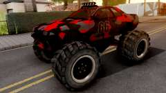 Nissan Skyline R32 Monster Truck Camo v2 for GTA San Andreas