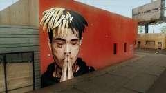XXXTentacion Wall for GTA San Andreas