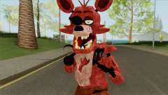 Foxy V7 (FNaF) for GTA San Andreas