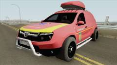 Dacia Duster - Pompierii 2010 for GTA San Andreas