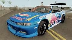 Nissan Silvia S14 RedBull (MTA Tokyo Drift) for GTA San Andreas