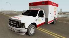 Ford F-4000 Samu LowPoly for GTA San Andreas