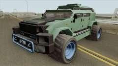 HVY Menacer GTA V IVF for GTA San Andreas
