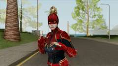 Captain Marvel From Movie In Mask for GTA San Andreas