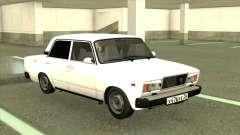 VAZ 2107 Sedan White for GTA San Andreas