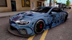 BMW M8 GTE Itasha Ayanami for GTA San Andreas