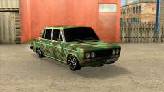 VAZ 2106 Sedan Camouflage for GTA San Andreas