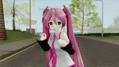 Hatsune Miku Pink V1 for GTA San Andreas