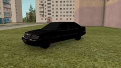 Mercedes-Benz S600 W140 90s for GTA San Andreas