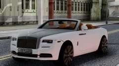 Rolls-Royce Dawn 2017 White for GTA San Andreas