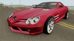 Mercedes-Benz SLR Mclaren 2005 HQ for GTA San Andreas