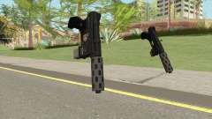 Vom Feuer Machine Pistol GTA V (Short Mag) for GTA San Andreas