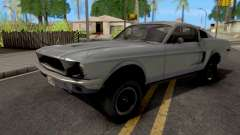 Ford Mustang Fastback GT390 Bullitt 1968 for GTA San Andreas