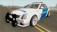 Cadillac CTS Magyar Rendorseg for GTA San Andreas