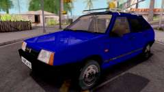 VAZ-21093 Blue for GTA San Andreas