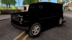 Benefactor Dubsta Black for GTA San Andreas