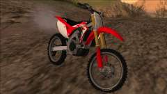 Honda CRF450R 2019 v1.35 for GTA San Andreas
