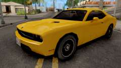 Dodge Challenger SRT8 Yellow for GTA San Andreas