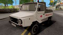 LuAZ-2403 Ambulance Service for GTA San Andreas