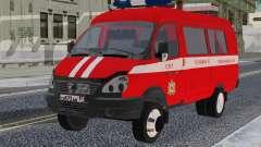 GAZelle 33023 SPT for GTA San Andreas
