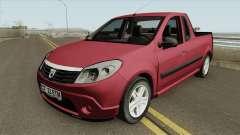 Dacia Sandero Pickup for GTA San Andreas