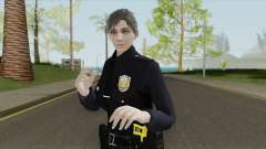 GTA Online Random Skin 17 Female LSPD Officer for GTA San Andreas