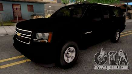 Chevrolet Suburban LT 2007 Black for GTA San Andreas