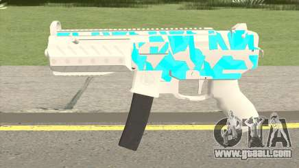 Submachine Gun MK2 (Ice) for GTA San Andreas