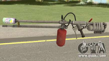 Flame Thrower for GTA San Andreas