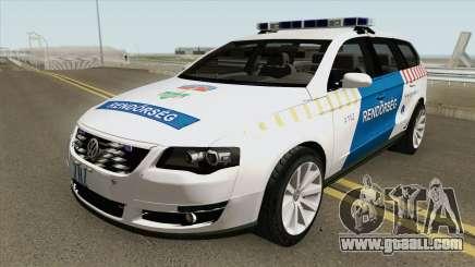 Volkswagen Passat Variant Magyar Rendorseg for GTA San Andreas
