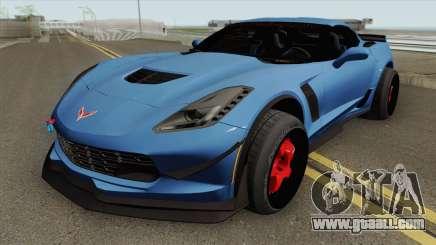 Chevrolet Corvette C7 Z06 for GTA San Andreas