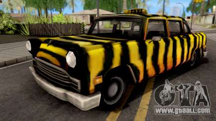 Zebra Cab GTA VC for GTA San Andreas