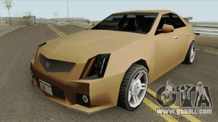 Cadillac CTS-V 2010 (SA Style) for GTA San Andreas