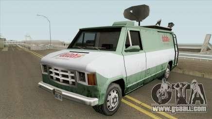 Duta TV Newsvan for GTA San Andreas